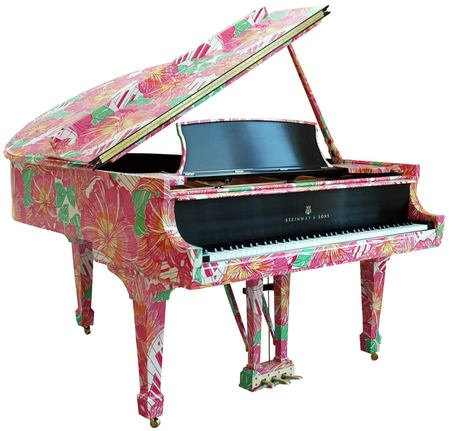 Steinway Limited Edition Lilly Pulitzer Piano