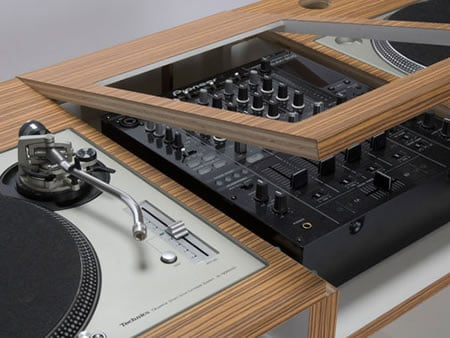 The san francisco full size djc 01 dj console by dual is for Custom made furniture san francisco