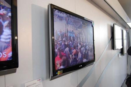 Sharp announces Aquos D64U super slim LCD TV's -