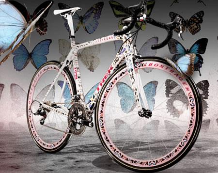 Damien Hirst custom designs Trek Madone bike for ...