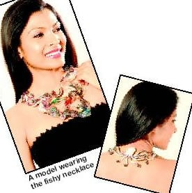 A Precious Necklace That Houses Live Fish For 61 000 From India