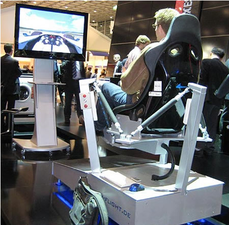 X6 Sports Car driving simulator fails to pump up the ...