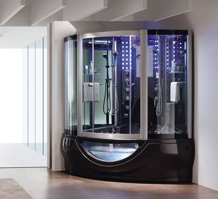 Luxury Steam Shower From Aquapeutics For Daily Spa