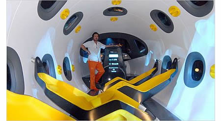 Marc Newson Designs For The Astrium Space Jet