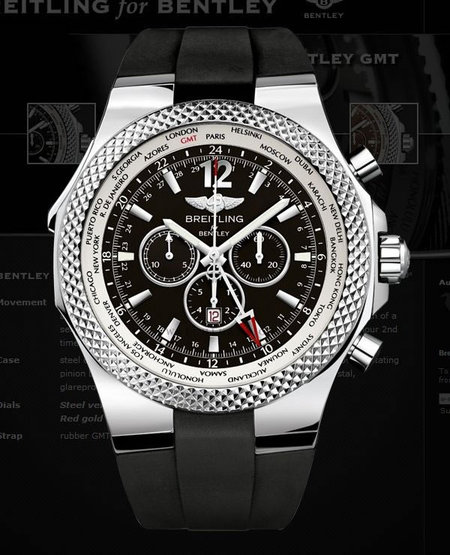 Breitling Bentley Gmt Wristwatches: Breitling For Bentley GMT Chronograph: Time To Flaunt A