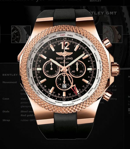 Breitling For Bentley GMT Chronograph: Time To Flaunt A