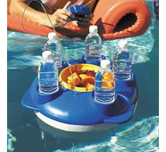 Floating Drink Caddy The Ultimate In Poolside Service