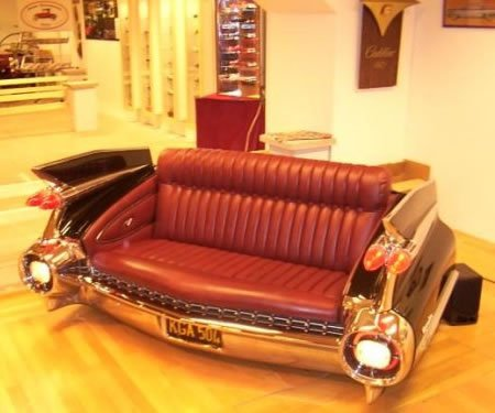 What To Do With Used Car Seats >> Sofa made from car trunk...coolest ever!