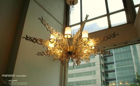 Erich Ginder Mansion Chandelier Is Ultimate Grandeur
