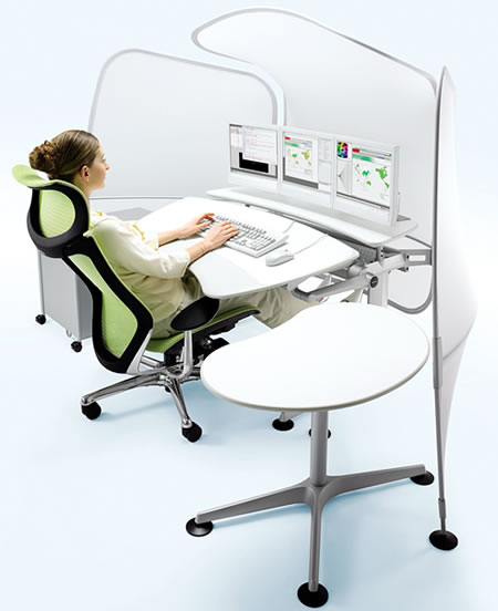 The Ergonomic Cruise Workstation Promises Increased