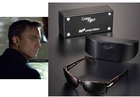 casino royale bond sunglasses by persol. Black Bedroom Furniture Sets. Home Design Ideas