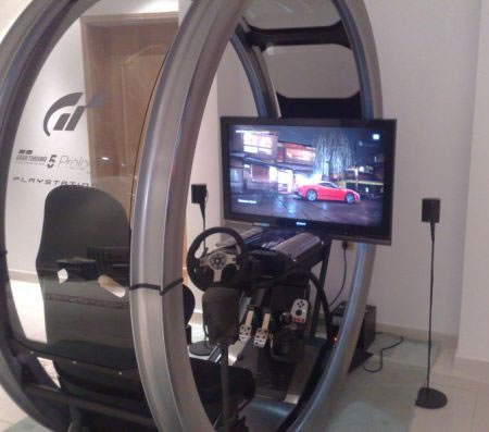 Gt5p Pod Is A One Of A Kind Gaming Rig