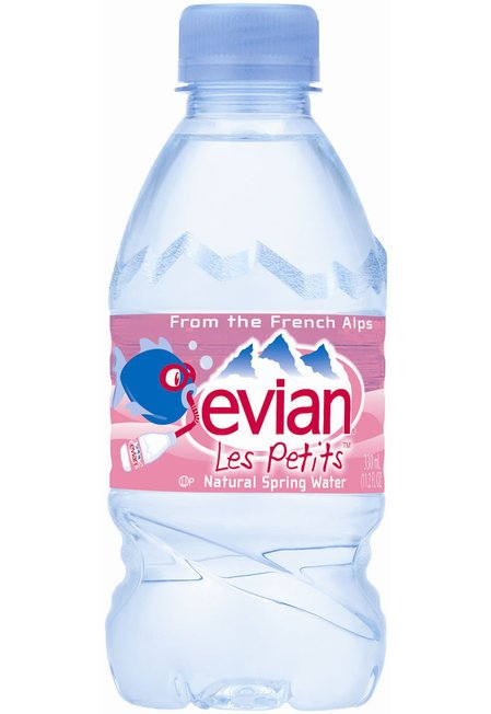 Evian Les Petits natural spring water keeps your kid ...
