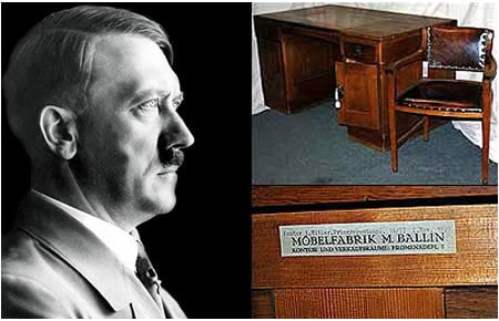 Adolf Hitler S Furniture To Fetch A Million Dollars