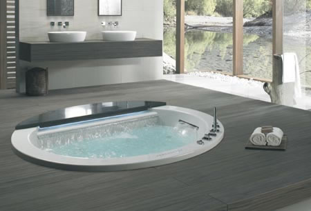 The K 196 Sch Overflow Series For A Unique Bathing Experience