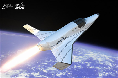 Lynx spaceship by Xcor gearing up for same tourism
