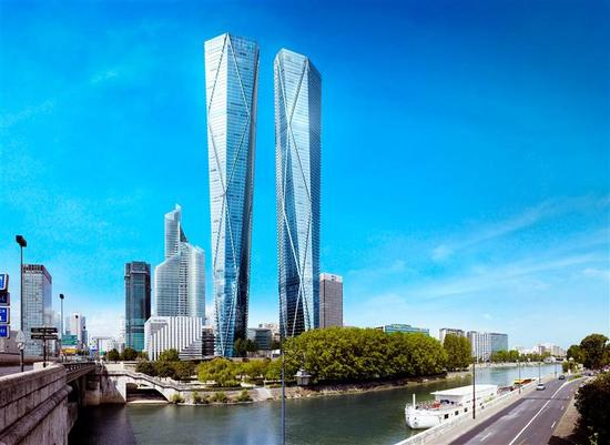 Most Expensive Cars >> The Hermitage Plaza Skyscraper will rise as Europe's tallest building in Paris : Luxurylaunches