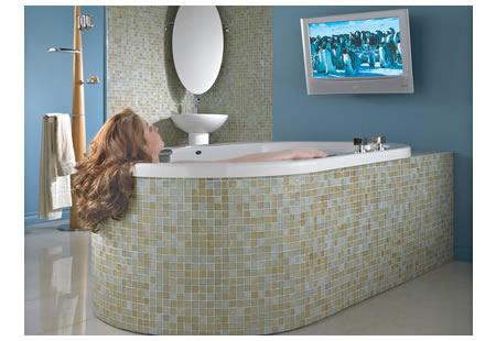 Neptune S Neptuner Bathtub Turns Itself Into A Giant Speaker