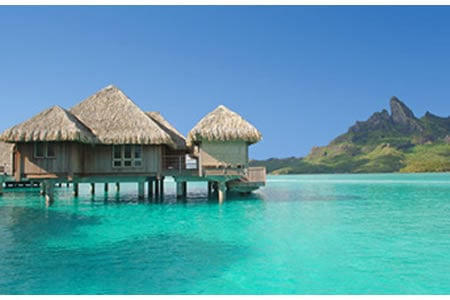 Nicole kidman keith urban honeymoon in tahiti Overwater bungalows fiji