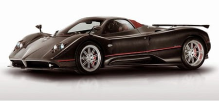 Pagani Zonda Roadster F in limited edition with Morel Speakers -