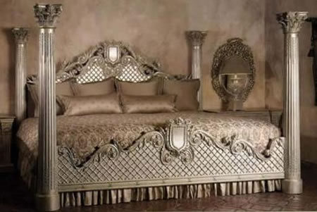 Top 7 Blinged Furniture For The Rich And Famous