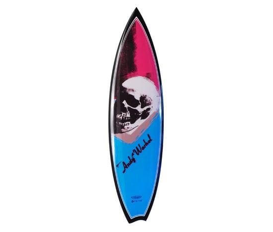 Dude Surf The Sea On An Andy Warhol Surfboard