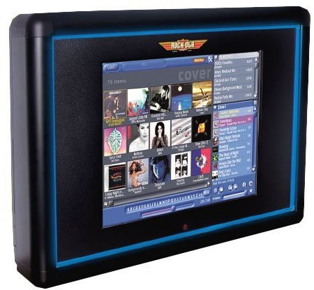 Rockola Mystic Touch Screen Digital Jukebox Comes Wall