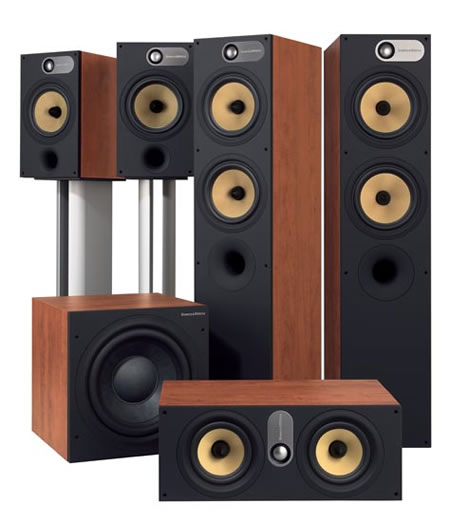 the six eight series speakers from bowers wilkins. Black Bedroom Furniture Sets. Home Design Ideas