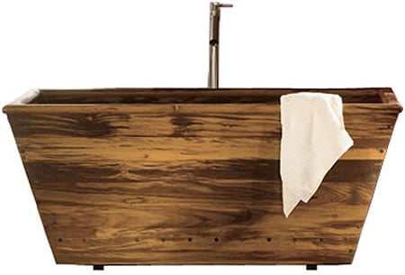 teak-bathtub
