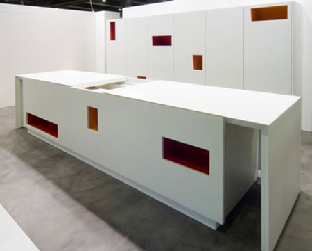 Tm italia s petra and mondrian kitchens are not just an for Not just kitchen ideas