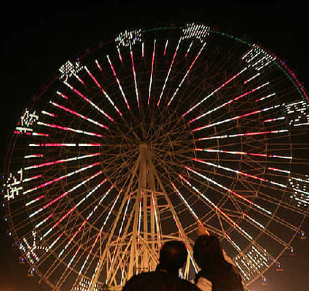 Big Ferris Wheels are back in action all over the world