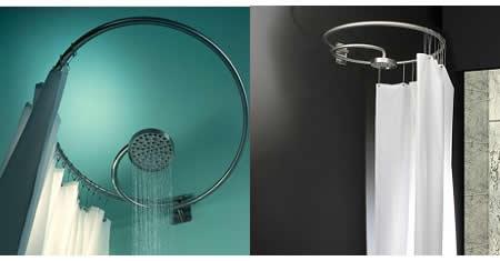 Spiral Shower Column Adds Twist To Your Bathe