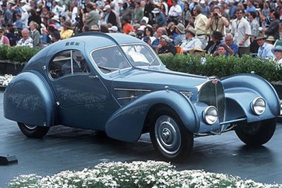 Teuerste auto der welt bugatti  The most expensive car in the world, the 1936 Bugatti 57SC ...