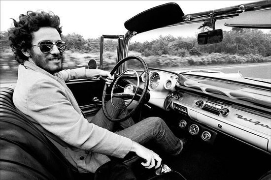 Image result for bruce springsteen first car