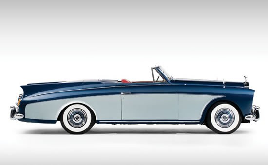 1958 Rolls Royce Two Seat Drophead Coupe Features Cocktail
