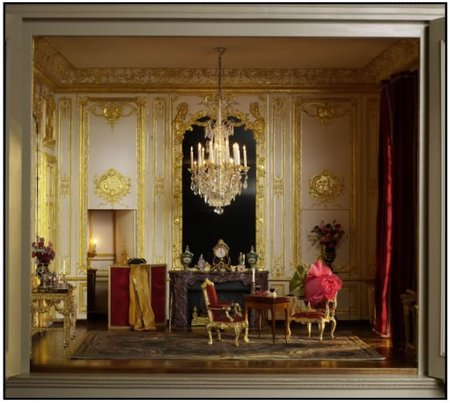 The Versailles Cabinet A Miniature Room Is As Beautiful