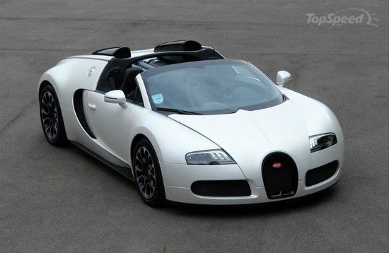 The 2010 Bugatti Veyron Grand Sport Sang Blanc, Which Was Designed In 2010  At The Request Of A Client In The UK, Is Now For Sale. Having Run Only 448  Miles, ...