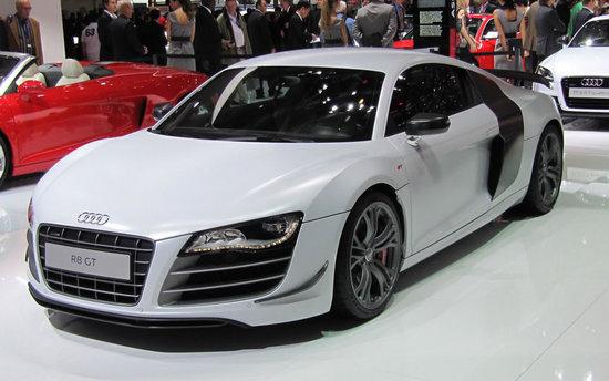 audi s most expensive model the 2011 audi r8 gt supercar. Black Bedroom Furniture Sets. Home Design Ideas