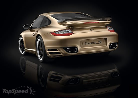 2011 Porsche 911 Turbo S 10 Year Anniversary Edition Is