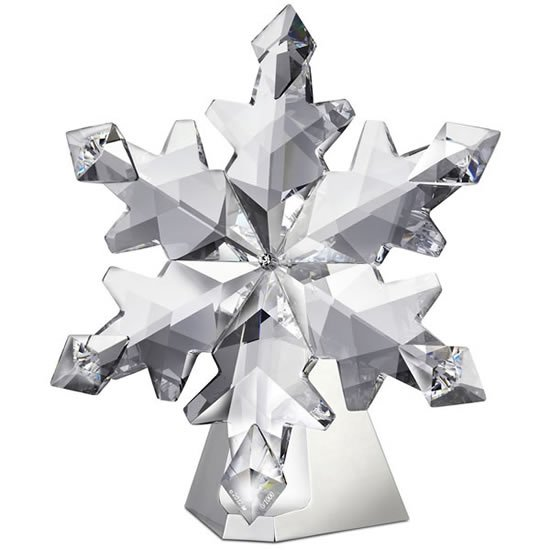 2012 Swarovski Christmas Snowflake Ornament is the largest till date