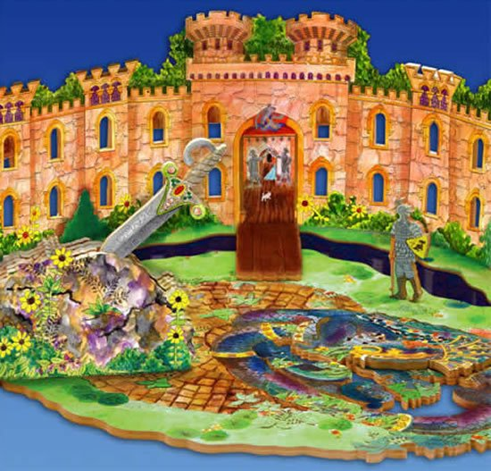 3D-Knight-Stavely-Castle-puzzle