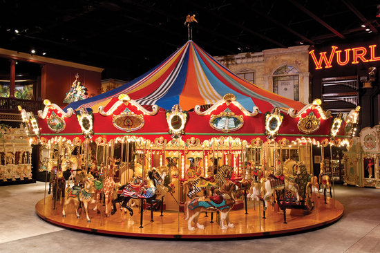 A Large Carousel From Milhous Collection Will Cost As Much
