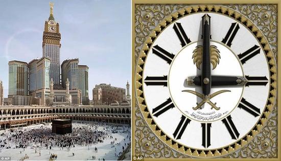 Saudi Arabia builds a $800 million clock to dwarf the Big Ben : Luxurylaunches