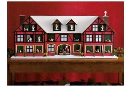 Handmade Wooden Advent Calendar