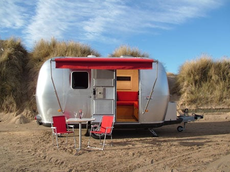 a cool retro caravan named airstream bambi 422. Black Bedroom Furniture Sets. Home Design Ideas