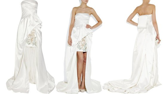 Alexander McQueen\'s duchess-satin gown is more pricey than the most ...