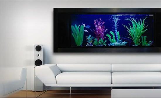 with the aquavista aquarium mount your fish tank on your wall