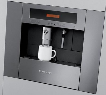Ariston Coffee Center Comes With A Built In Coffee Machine