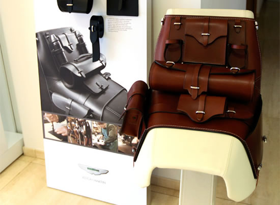 Aston Martin Leather Saddle Is Truly A Class Apart Luxurylaunches