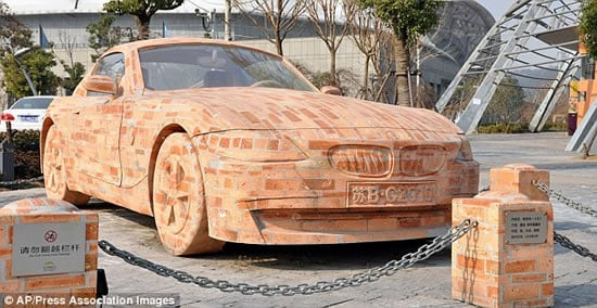 Bmw Z4 Brick Car Is More Expensive Than The Real One